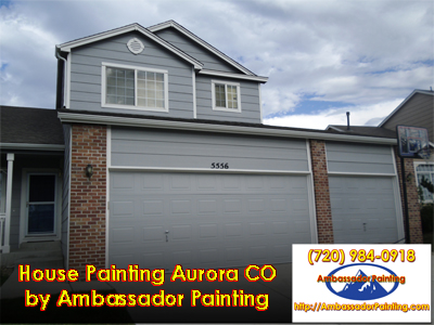 House Painting Aurora CO