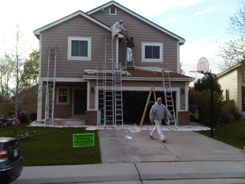 Arvada house painting