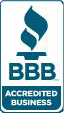BBB Accredited Business.