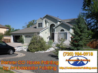 Denver CO House Painting