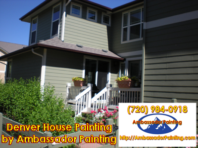 Denver House Painting