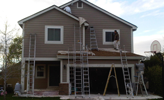 exterior house painter denver