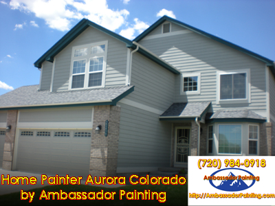 Home Painter Aurora Colorado