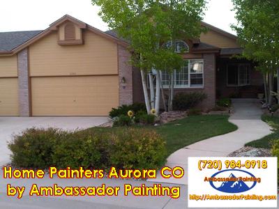 Home Painters Aurora CO