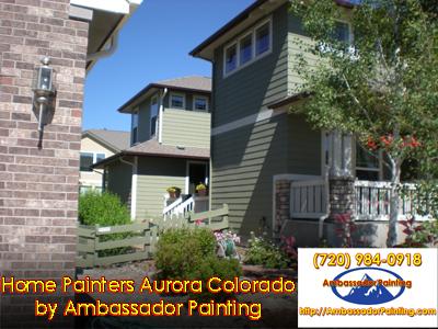 Home Painters Aurora Colorado