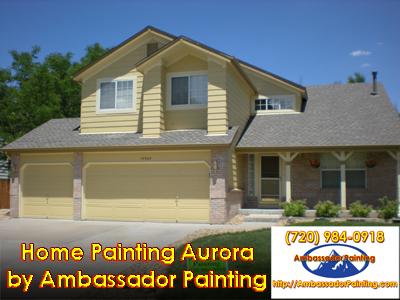 Home Painting Aurora
