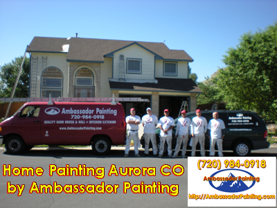 Home Painting Aurora CO
