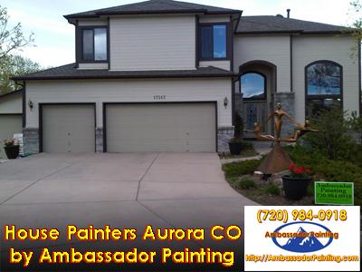 House Painters Aurora CO