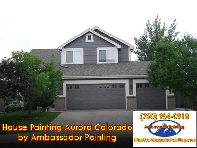 House Painting Aurora Colorado