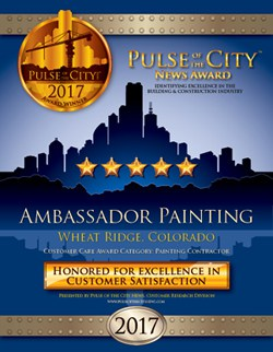 Ambassador Painting 2017 News Award