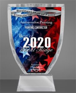 Ambassador Painting 2020 Award